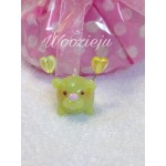 Pastel Lime Green Bubble Angel Charm