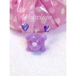 Pastel Purple Bubble Angel Charm