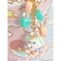 Pastel Green Garden Bubble Key Chain/Planner Charm