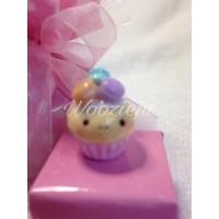 Macaroon Cupcake Charm