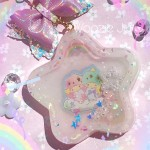 Little Twin Stars Star Resin Shaker Charm