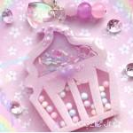 Pastel Cupcake Resin Shaker Charm