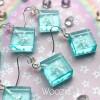 Holographic Snowflake Earrings