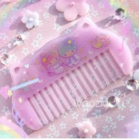 Little Twin Stars Resin Sparkle Comb