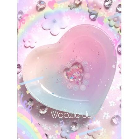 My Melody Pastel Heart Shaker Trinket Dish