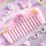 My Melody Resin Sparkle Comb