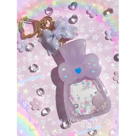 Hello Kitty Candy Bag Resin Shaker Charm