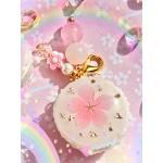Pastel Resin Sakura Macaron Charms (1 Large Blossom)