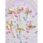 Magical Pastel Star Wand Charms