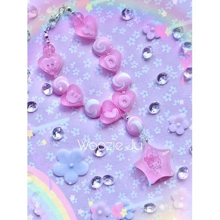 My Melody Bag/Purse Star Charm