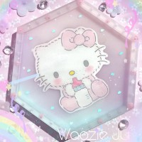 Hello Kitty Pastel Hexagon Trinket Tray - B-Grade