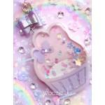 Large My Melody Cupcake Resin Shaker Charm - B-GRADE