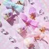 """Sweet Love"" Range - Pink Pastel Iced Cake Planner Charm/Key Chain"